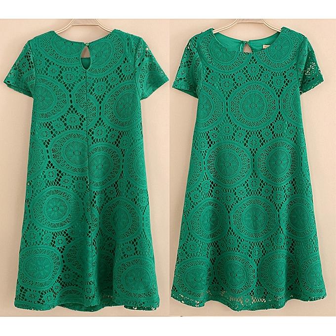 a6619af9 Dresses For Ladies Fashion Summer Female Style A-line Short Sleeve Summer Dress  Dress Women