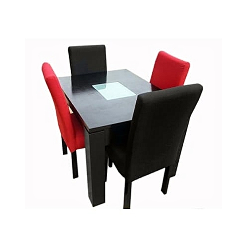 Oxlyn Dining Table & Chairs - 5Pcs(Delivery Within Lagos & Ogun Only)