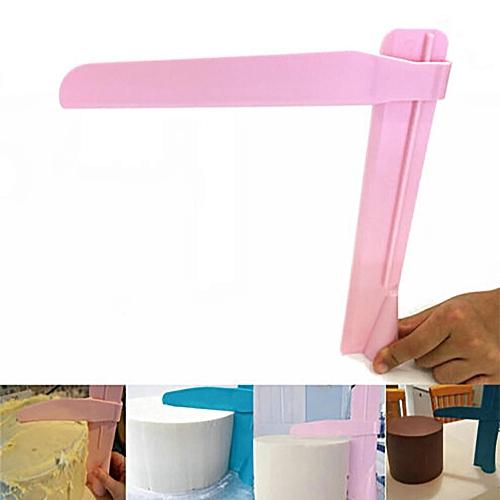 Adjustable Fondant Cake Scraper Icing Piping Cream Spatula Edges Smoother