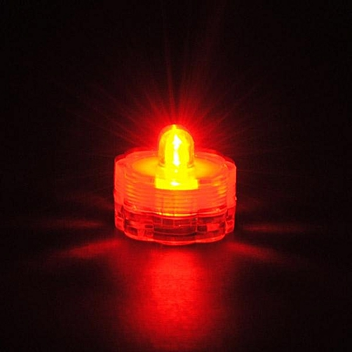 Flameless Waterproof LED Tea Wedding Light Candle Floral Submersible For Event Design