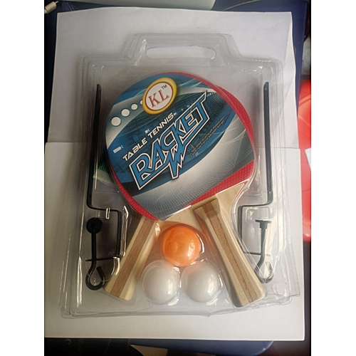 Tabel Tennies Bats, Balls, Net And Post Set(advanced)
