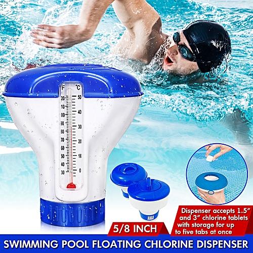 Chemical Floater Tablet Floating Chlorine Dispenser Applicator For Swimming 8-Inch