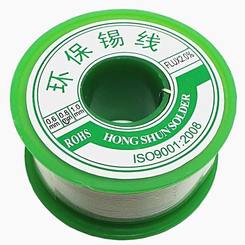 Professional Flux Solder Wire Reel Lead Free 0.7Cu Flu 2 Percent 0.8mm Diameter -