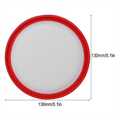 130mm Vacuum Cleaner Round Filter Replacement For Midea C3-L148B C3-L143C VC14A1-VC