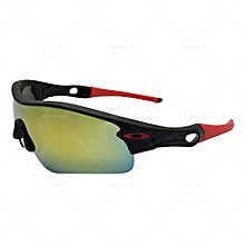 dab899f5761 Radarlock Path Mirror Sunglasses OO9181-23 - Black Red