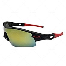 98bdb998c53 Radarlock Path Mirror Sunglasses OO9181-23 - Black Red