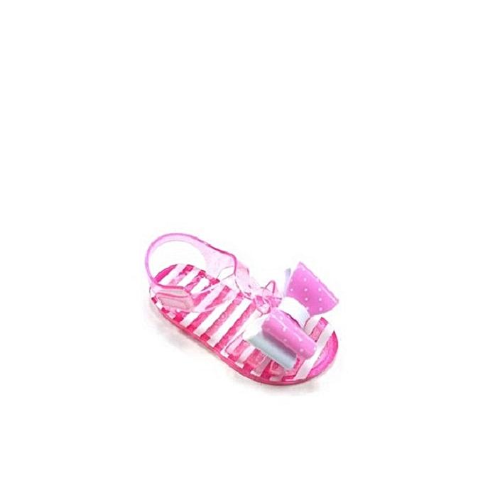 018f105d0 Fashion Wonder Nation Toddler Girls' Polka Double Bow Jelly Sandal ...