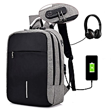 0d3565dd8 2018 Oxford Business Anti Theft Smart Bag With Password Lock With USB  Charging Port,Travel