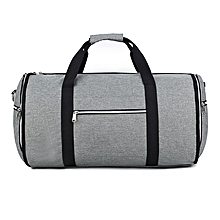 Convertible 2 In 1 Garment Bag With Shoulder Strap, Luxury Garment Duffel Bag For Men