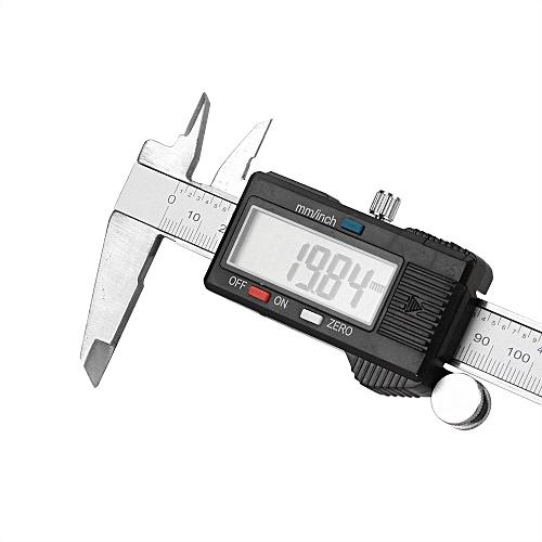 Quanxinhshang 150mm 6inch LCD Digital Vernier Caliper Electronic Gauge  Micrometer Measurement