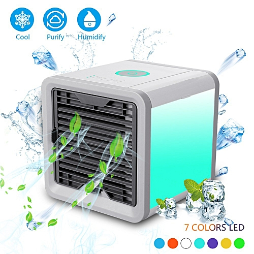 Arctic Air Cooler Quick To Cool Air Quick & Easy Way To Cool Table Fans Device Home Office