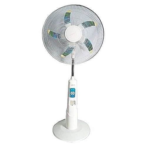 18inches 5blade Rechargeable Fan With Remote Control+LED LIGHT