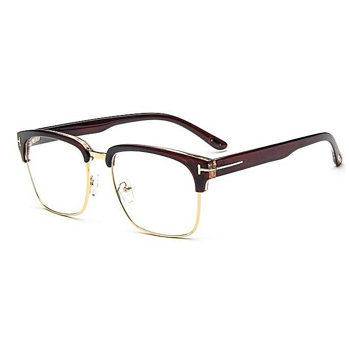 403c4f9627 Vintage Men Eyeglass Frame Glasses Retro Spectacles Clear Lens Eyewear For  Men