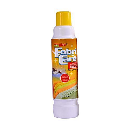 Fabri Care Cold Water Starch 1Litre X6