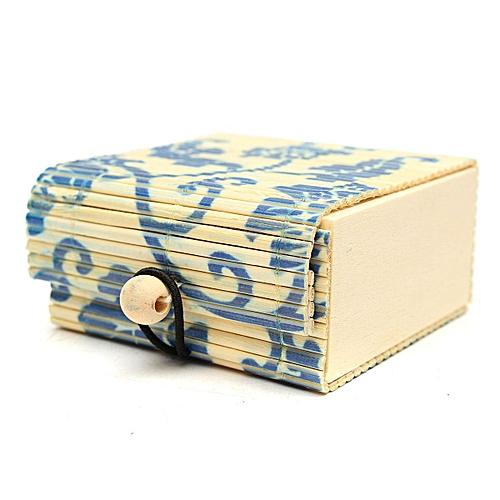 Creative Bamboo Soap Box Jewelry Box Debris Box Storage Box