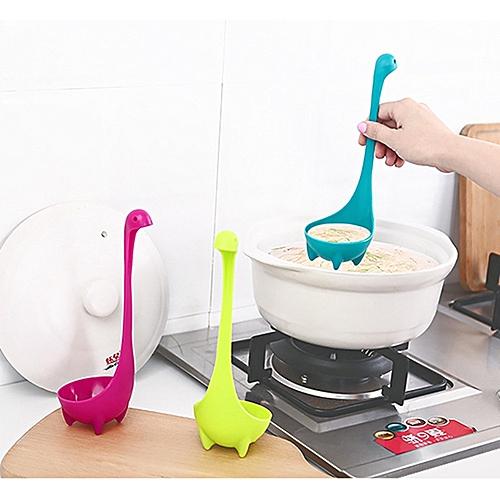 Heat Resistant Nessie Ladle Kitchen Plastic Big Soup Spoon