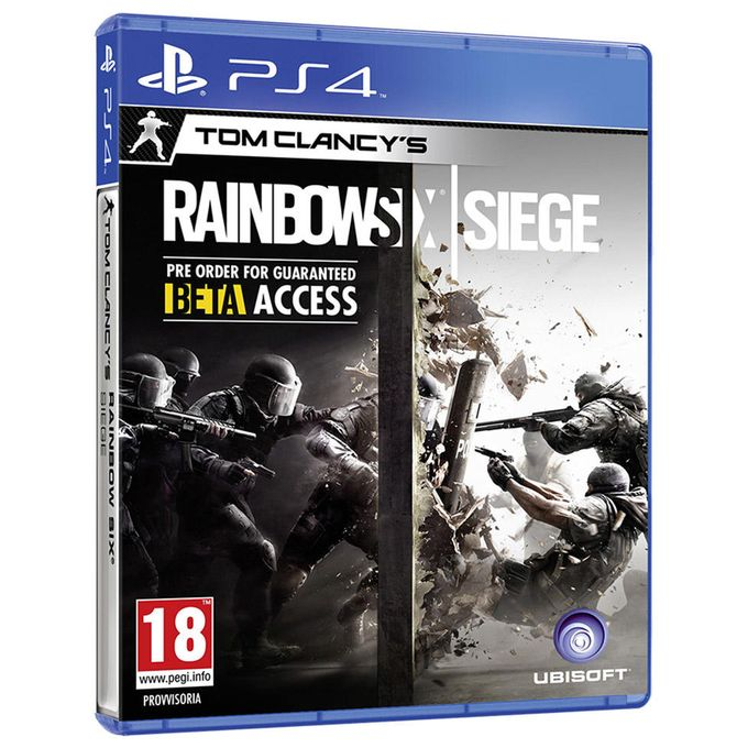 Tom Clancy Games For Ps4 : Ubisoft entertainment ps tom clancy s rainbow six siege