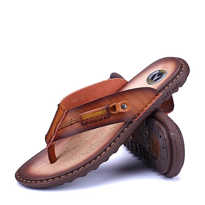 0995070d2 New Arrival Men Shoes Summer Men Flip Flops High Quality Beach Sandals  Non-slip Male