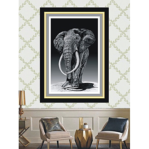 Elephat Pencil Sketch
