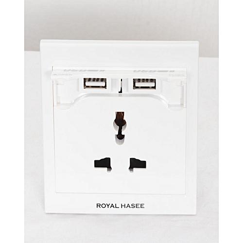 Royal Hasee USB Wall Socket