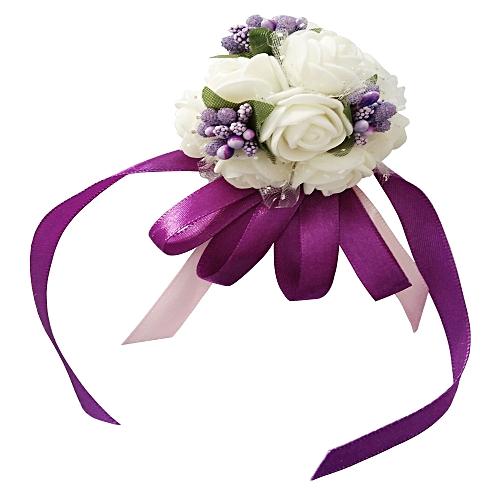 Emulational Wrist Flower Decoration Wedding Special Occasion Use