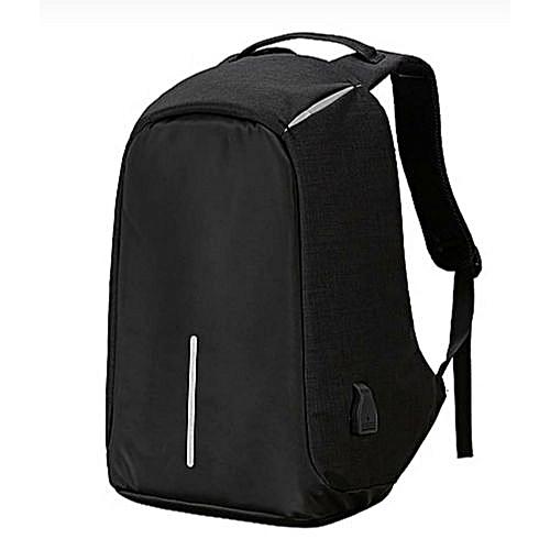 Anti-theft Laptop Backpack + External USB Charging Port