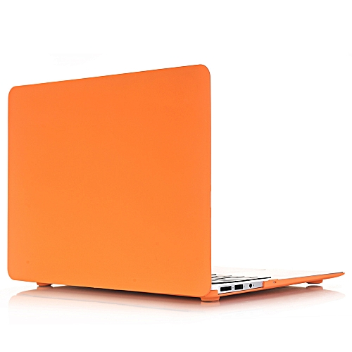 New Cream Apple Notebook Protective Shell Multi-model Specifications Apple 11 Inch 12 Inch 13inch 15 Orange