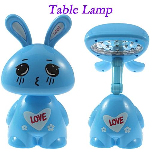 Foldable LED Table Lamp -blue