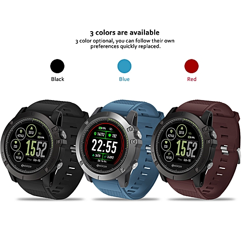 Vibe 3 Hr Ips Smartwatch Heart Rate Ip67 Men For Ios Android