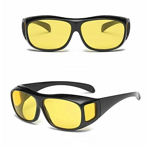 aab46cd9fcc Generic Driver Anti Glare Sunglasses At Night HD Vision Day And Night  Glasses For Driving
