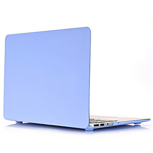 New Cream Apple Notebook Protective Shell Multi-model Specifications Apple 11 Inch 12 Inch 13inch 15 Blue