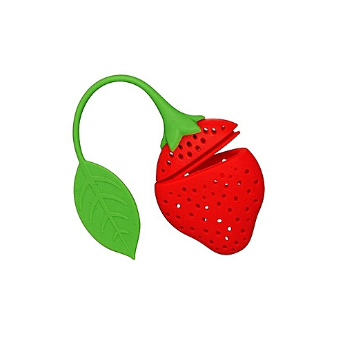 5pcs Strawberry Tea Strainer
