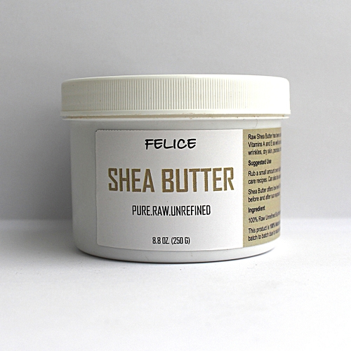 Felice Raw Shea Butter - Unrefined - 250g