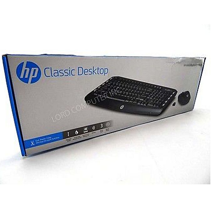 Buy Hp Classic Desktop Wireless Keyboard And Mouse Lv290aa
