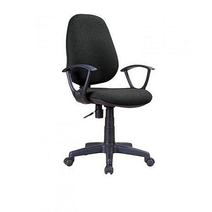 Emel Best Quality Office Chair Swivel-Fabric Hb
