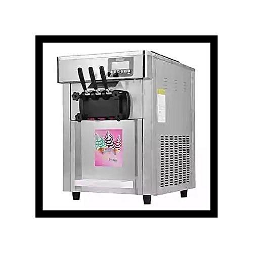New Icecream Machine With Three Dispenser Table Top