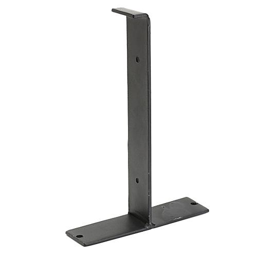 5pcs Loft Retro Industrial DIY Wall Shelves Support Single Square Iron Shelf Support