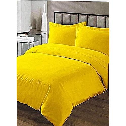 Duvet + Bedsheet + Four Pillow Cases + Duvet Bag And FREE GIFT