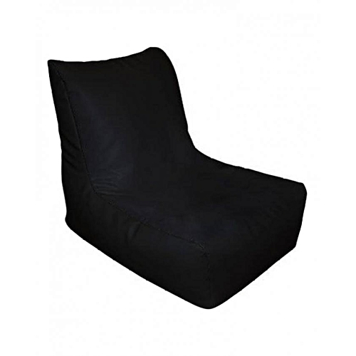 Adult Size Bean Bag Chair - Black (Delivery To Lagos Only)