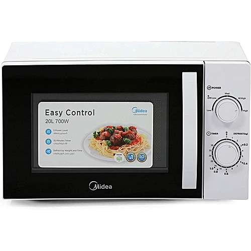 Mm720 20 Litre Microwave Oven White