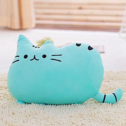 Eleganya Cartoon Funny Cat Modeling Boutique Soft Plush Pillow