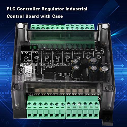 DC 24V PLC Controller Regulator Industrial Control Board Programmable Logic Controller Case