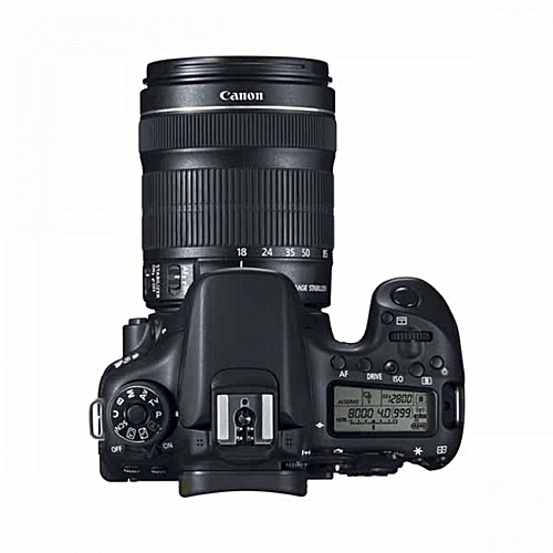 Canon EOS 70D With 18-135mm Zoom Lens