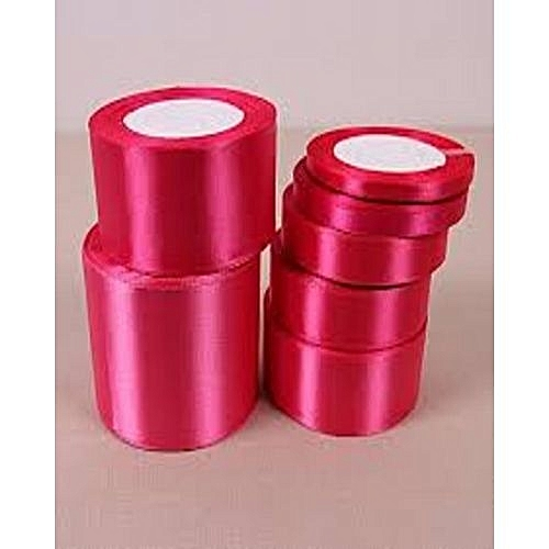Pink Rolls Of 3 Piece Colour Ribbons To Decorate All Event Place