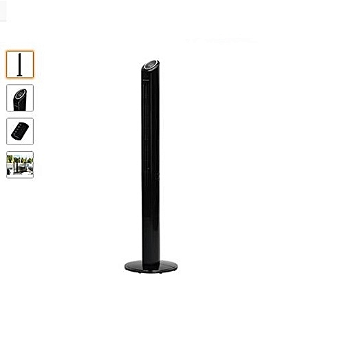 Mont Blanc Cooling Slimline Blade-less Tower Fan With Remote Control