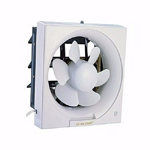 Extractor Exhaust PVC Kitchen Bathroom Toilet Wall Fan- 8 Inches