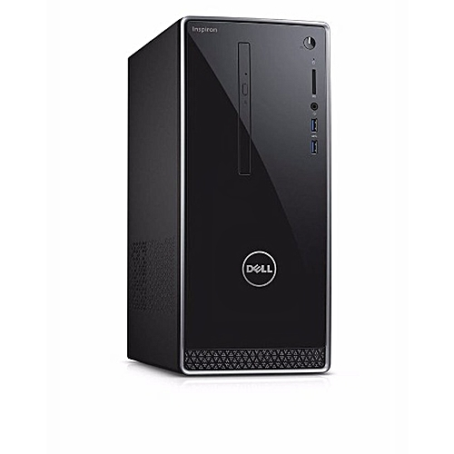 Inspiron 3650 Mini Tower Desktop PC - Intel Core I3-4GB RAM-1TB HDD-WIN 10 HOME
