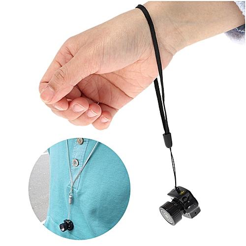 Mini Camera Camcorder Pinhole Video Recorder DVR - Black