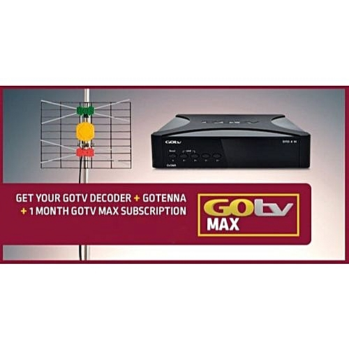 Decoder+Gotenna+1 Month Gotv Max Subscription