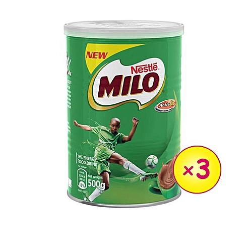 Milo Champion Tea 500g X 3